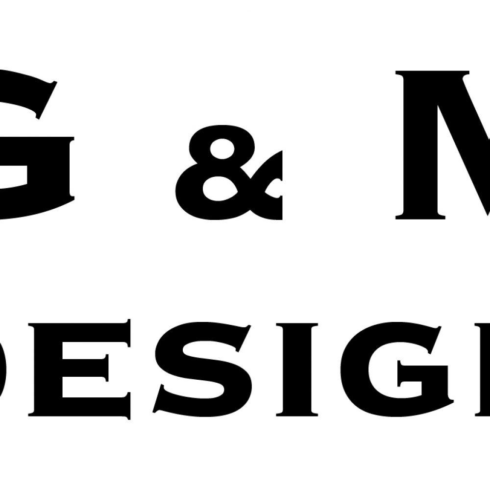 G&M Logo Noir sur Blanc