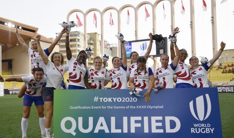 Les Francaises se qualifient pour les Jeux Olympiques de Tokyo. (Photo by Giorgio Perottino)
